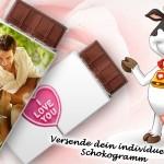 Envoyez une carte en chocolat !