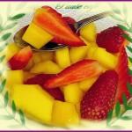 Salade de mangue :